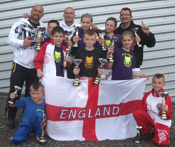 K.9 Fighters Win Medals for England