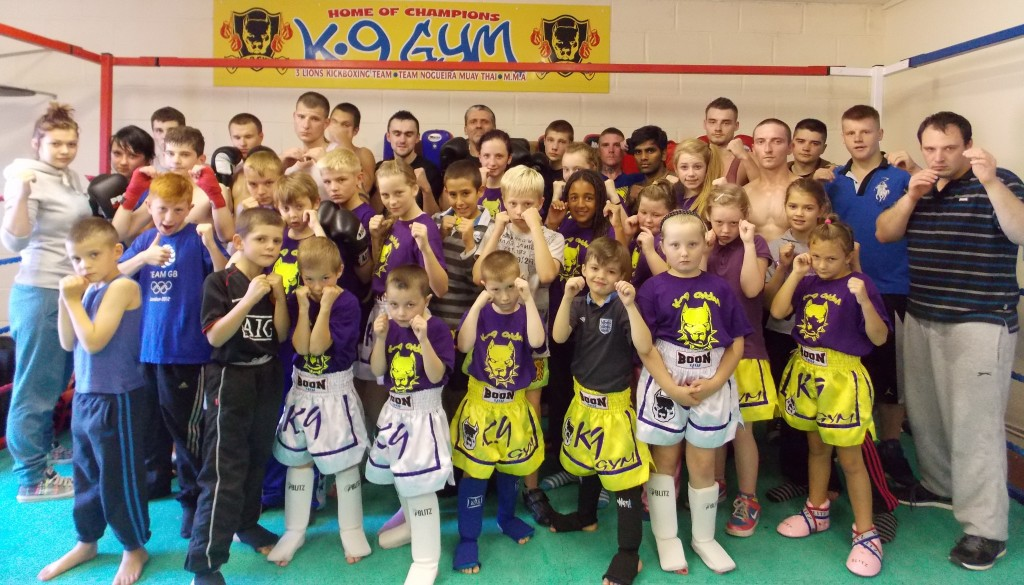 Students of K.9 and Team Nogueira  at their recent grading