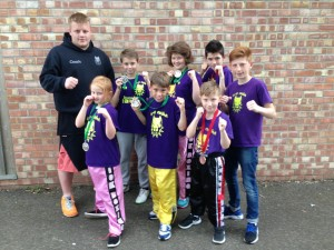 K.9 fighters who competed in Kent and Bury