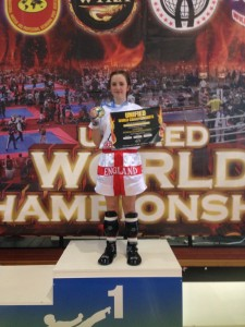 Tia wins two Gold medals