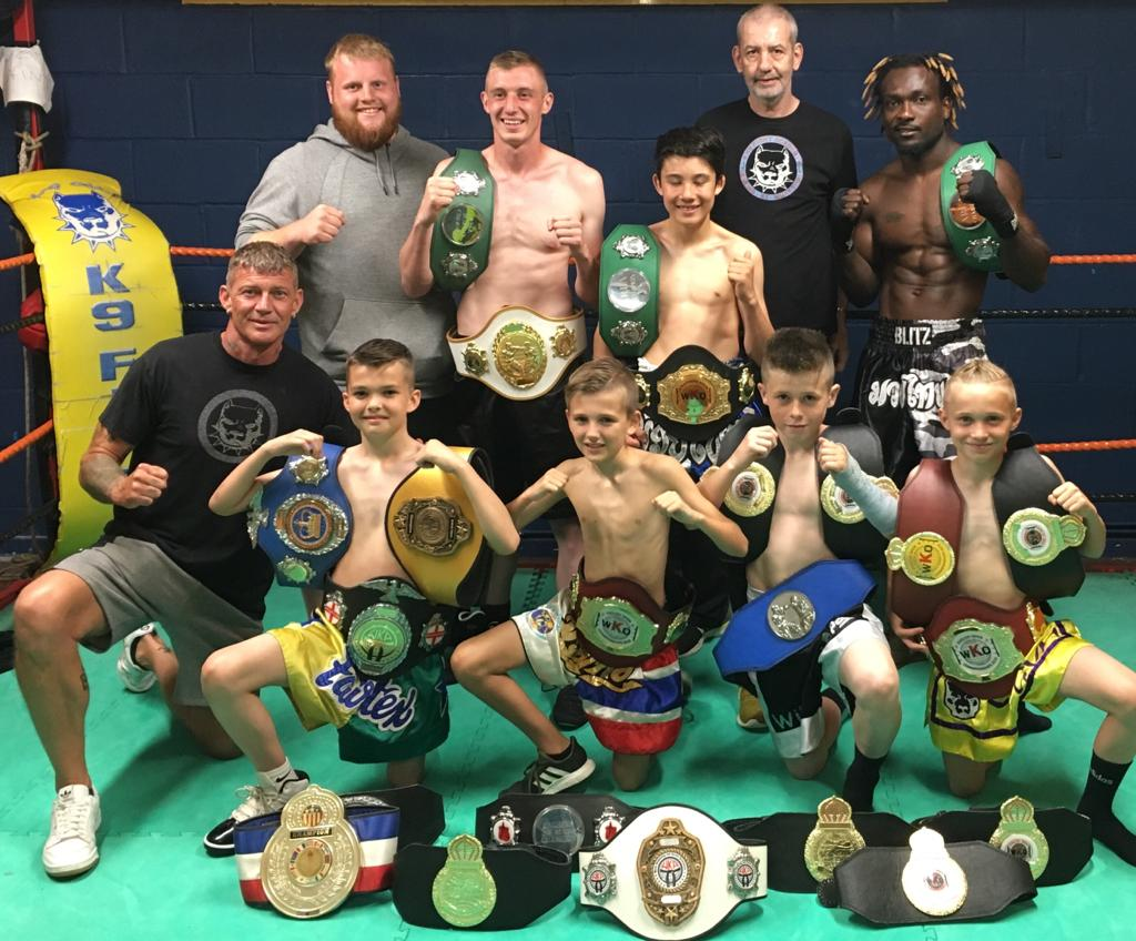 Current K9 champs with belts