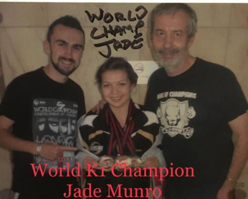 World K1 champion Jade