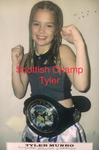 Scottish champ Tyler