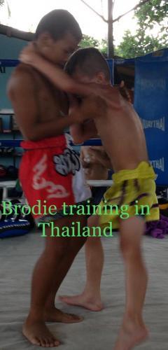 Brodie at Jitpackdee Gym Thailand