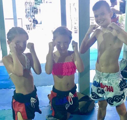 K9 Kids training at WMC Gym Koh Samui Thailand