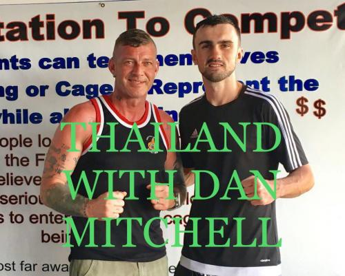 Dave and Dan in Thailand