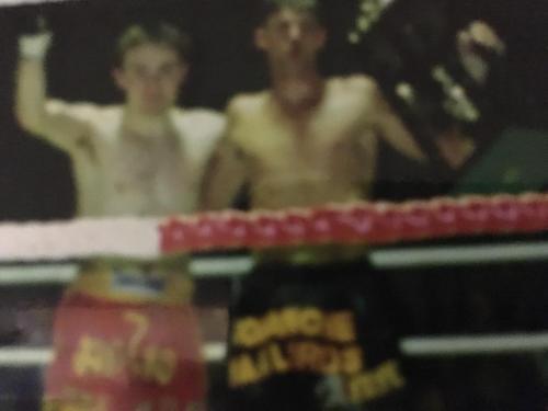 Dave Munro Muay Thai win