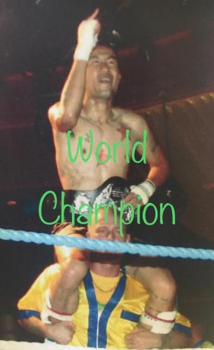 World champion Bin Tyler
