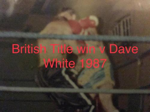 Dave Munro beating Dave White in 1987