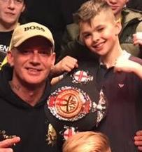 Muay Thai Area Champ Brodie Munro with Dad