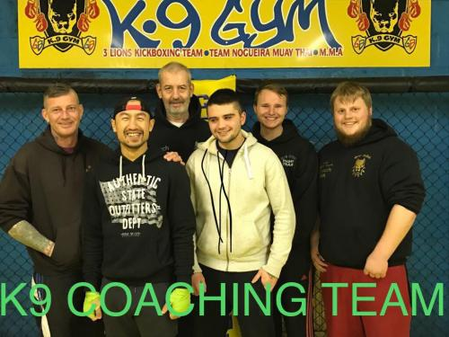 K9 coaching team